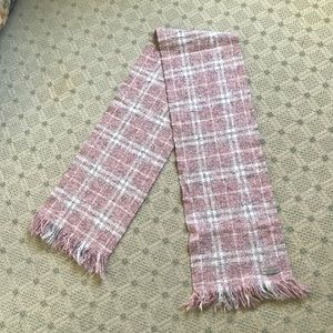 Authentic Burberry scarf pink